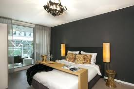 grey accent wall bedroom best bedroom decorating ideas with unique chandelier and charcoal grey wall color