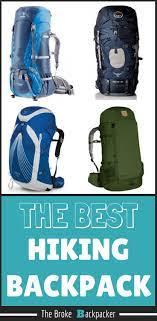 11 best hiking backpacks plete