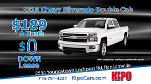 kipo 2018 chevy silverado double cab