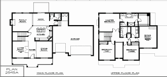 stunning ideas 2500 sq ft house plans 2 story two story house plans 2500 sq ft