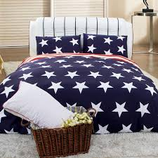 navy blue white and red american flag the star and the stripes personalized full queen size 100 brushed cotton bedding sets