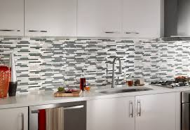 backsplash tile installing glass mosaic