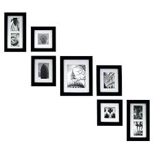 gallery wall frame kit gallery perfect create a gallery wall picture frame kit set of 7