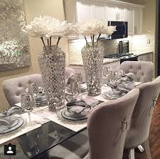 Glass Centerpieces For Dining Room Tables