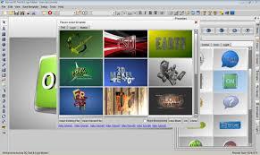 aurora 3d text logo maker
