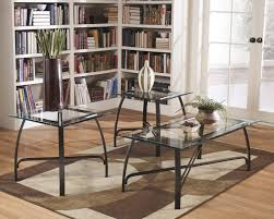 black coffee table sets side ashley furniture round end tables brown glass signature design by wonderful