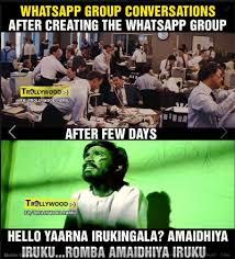 Whatsapp group conversations - Tamil Memes via Relatably.com