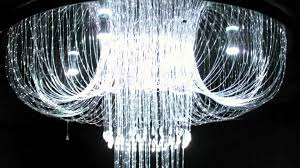 plume fibre optic chandelier nightclub restaurant chill out by