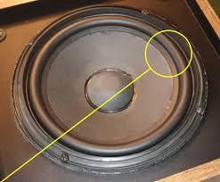 bose 301 series ii. rubber ring for bose 301 series ii woofer bose ii e