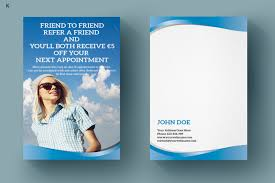 Txt Descargar Referral Card Template By Ayme Designs