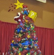 10 Of The Most Creative Christmas Tree Toppers Ever  Bored PandaSuper Mario Christmas Tree