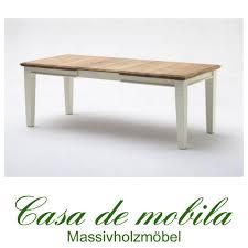 Massivholz Esstisch Erweiterbar 180240x95 Nordic Home Kiefer Massiv