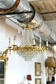 elegant 1930s crystal chandelier for antique empire crystal chandelier vintage lighting photo by 82 1930s astor