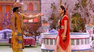 Krishna tells radha to fulfill his demand if she wants him to stop balram. Radhakrishn 9 May Radha Balram Want Krishna S Help Radha Challenges Balram To Make The Maha Bhoj While Kans Is Krishna Radha Krishna Pictures Radha Radha
