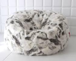 large lush soft goat faux fur bean bag cloud bean bag affordable furry bean bag chair