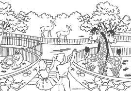 Make your world more colorful with free printable coloring pages from italks. Free Printable Zoo Coloring Pages For Kids
