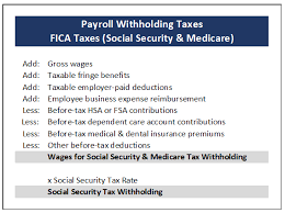How Are Payroll Taxes Calculated Tx302 Payroll Withholding Tax Essentials
