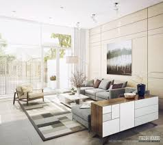 Modern Design Of Living Room Remarkable Cream And Gray Contemporary Large Room Ideas Home Decor