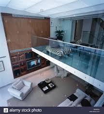 mezzanine furniture. Mezzanine Furniture. Birdseye View Of Large Open-plan Floor With Glass Half- Furniture