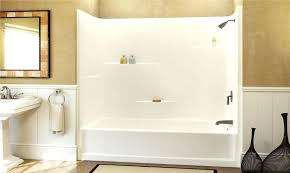 fiberglass shower fiberglass tub and shower fiberglass shower refinishing