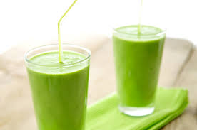 groene smoothie ananas