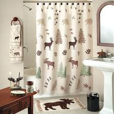 hooks shower design mountain lodge shower curtain smlf sage