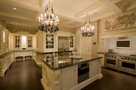 chandelier for kitchen island large kitchen decoration using white kitchen cabinet and island designed with