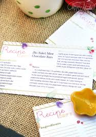 Editable} Recipe Cards | Designs By Miss Mandee