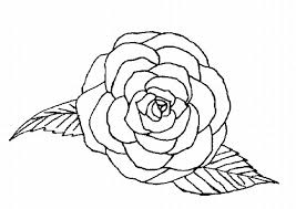 Small Picture Single Rose Coloring Page Coloring Book