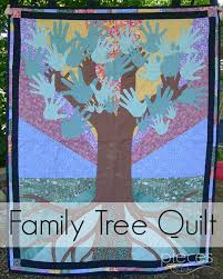 Pieces by Polly: Family Tree Anniverary Quilt & Family Tree Anniversary Quilt Adamdwight.com