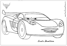 Cars Jackson Storm Coloring Pages Nigel Gearsley Coloring Page