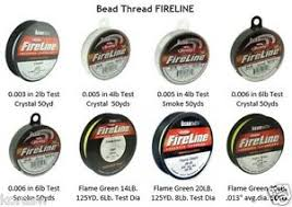 Details About Beading Thread Fireline