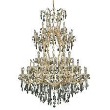 elegant lighting maria theresa 54 61 light royal crystal chandelier