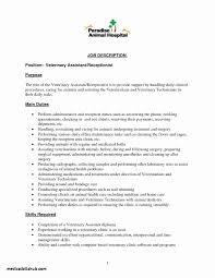 Free Resume Templates For Medical Receptionist Best Of Medical