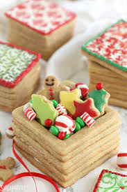 Decorative Cookie Boxes Christmas Present Cookie Boxes SugarHero 31