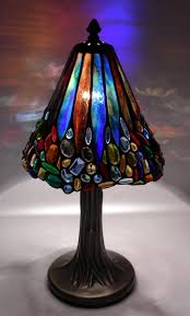 Crystal Glass Table Lamp Stained Glass Lamps Stained Glass Lamps
