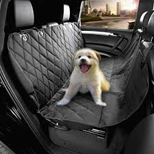 morpilot pet seat cover auto back rear seat barrier quilted waterproof hammock style car seat cover for dogs with protector pad anti slip for rear suv