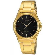 casio mtp 1130n 1a gold plated watch for men