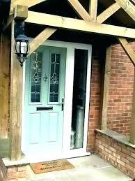 front door with glass panel exterior 6 window lite g