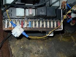 ferdinand s 1983 porsche 944 restoration project porsche 944 fusebox corrosion
