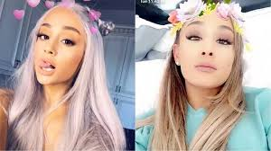 ariana grande covers british vogue and looks like an irl snapchat filter ogiggles