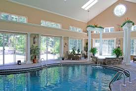 indoor outdoor pool residential architecture structures house plans built around perfect fancy pools awesome swimming cost