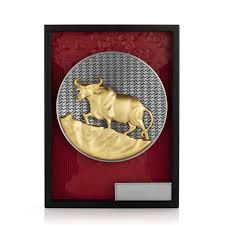An ox (plural oxen), also known as a bullock in australia and india, is a bovine trained as a draft animal. Royal Selangor Limited Edition 2021 Year Of The Ox Plaque Isetan Singapore