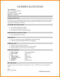 6 How To Write Cv Form Manager Resume