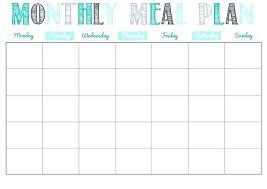 Monthly Planner Printable Blank Month Calendar Minimalist