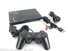 sony playstation 2 slim. sony ps2 playstation 2 slim console scph-90001 with controller tested very clean d