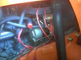 wiring diagram for kubota zd21 the wiring diagram t1600h electrical combination box orangetractortalks wiring diagram