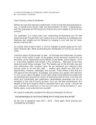 graduation closing remarks speech sample image titled write a graduation closing remarks