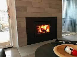 Modern woodburning fireplaces