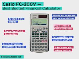 Financial Calculator Top 5 Best Financial Calculators Updated November 2019